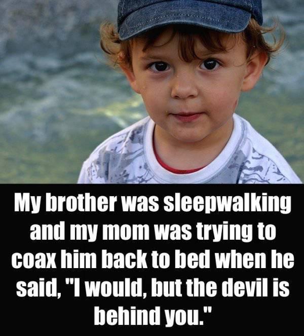 Sometimes Kids Say Terrifying Things (21 pics)