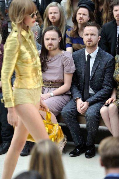Aaron Paul Clearly Does Not Understand Fashion (11 pics)