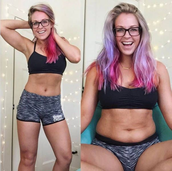 Big Differences Between Instagram And Real Life Bodies (13 pics)