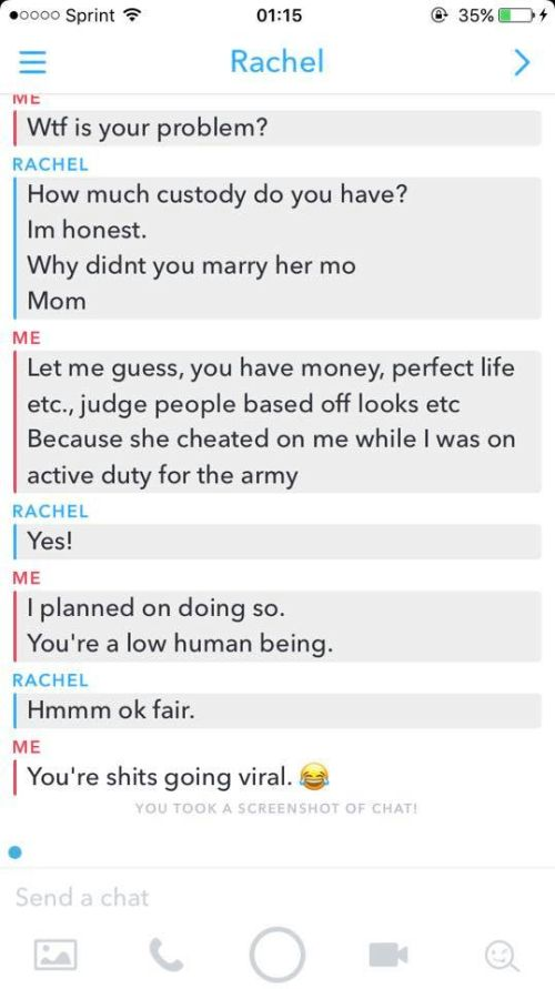 Veteran Destroys Girl Who Shamed Him On Tinder (9 pics)