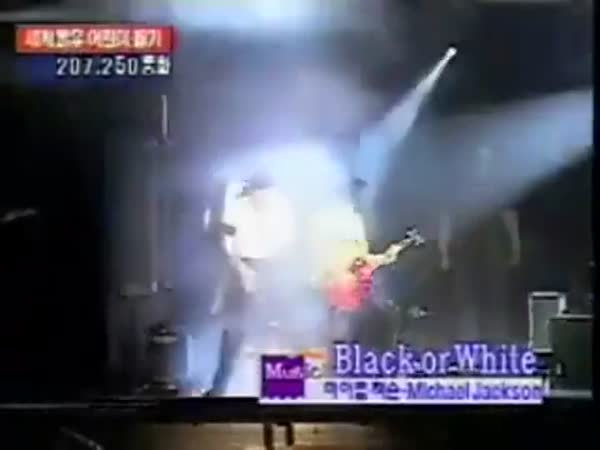 Even The Almighty Michael Jackson Had To Bow Before Slash's Guitar Solo