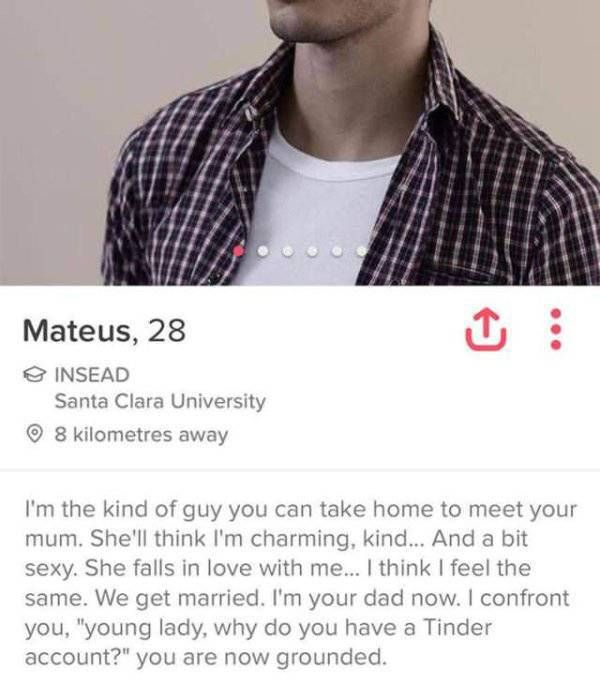 Tinder Profiles That Are Both Confusing And Hilarious (20 pics)