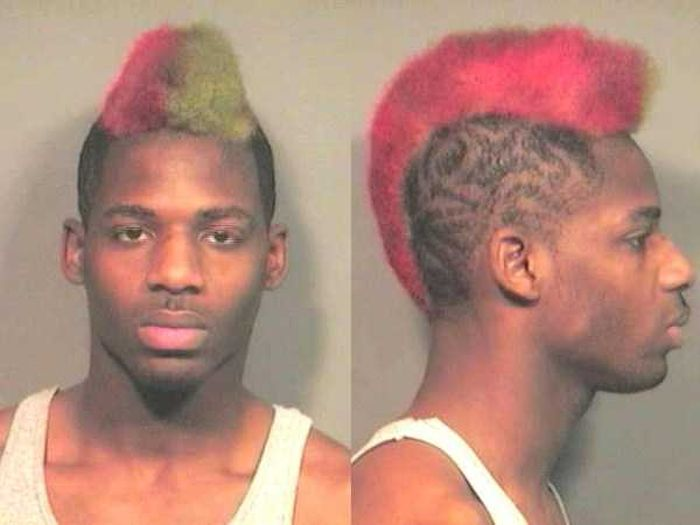 Horrendous Mugshot Hairdos That Are So Bad They're Funny (29 pics)