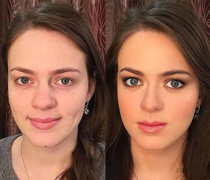 Makeup Magic Tricks That Should Not Be Practiced Outside Of Hogwarts (41 pics)