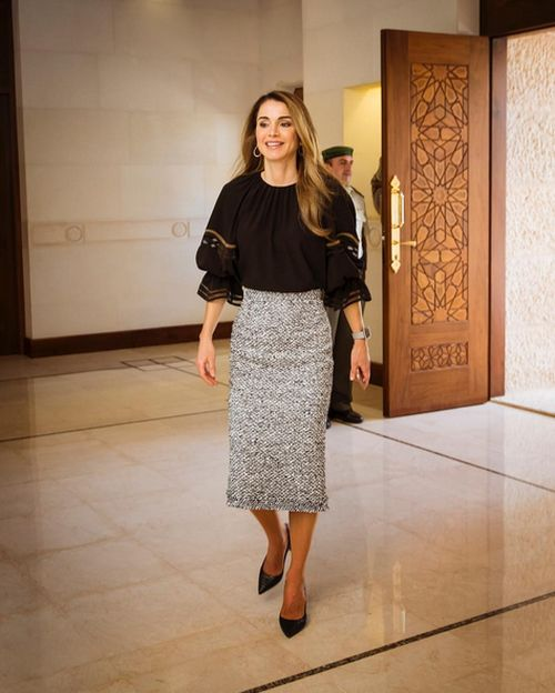 Meet Rania Al Abdullah The Queen Of Jordan (20 pics)