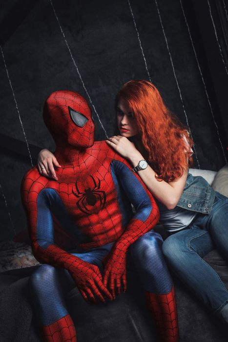 Spider-Man Is Constantly Surrounded By Beautiful Women (13 pics)