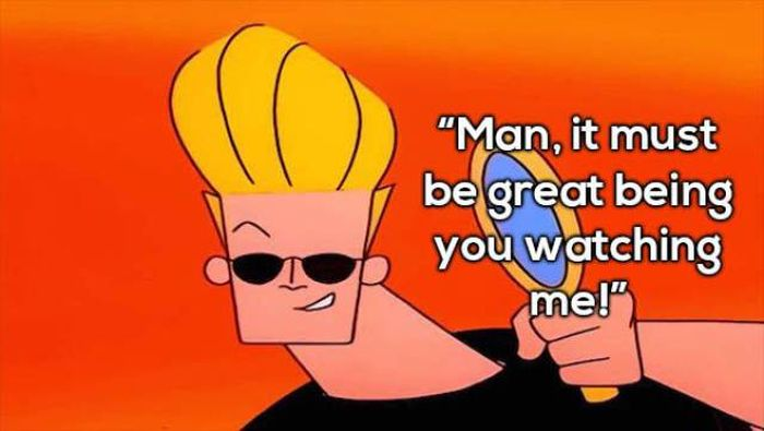Johnny Bravo Has Some Really Awesome Pick Up Lines (20 pics)