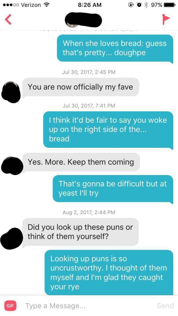 Puns Make Tinder Even Better (29 pics)