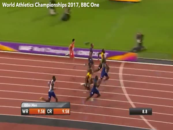 Usain Bolt Loses to Gatlin at The 2017 World Championship