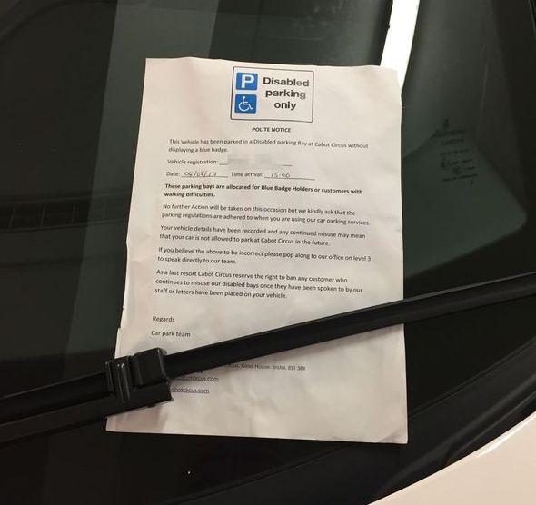 Lamborghini Owner Creates Outrage After Parking In Handicap Space (2 pics)
