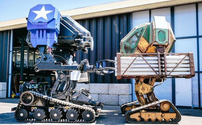 Team USA's Incredible Fighting Megabot Is Ready To Go (9 pics + video)