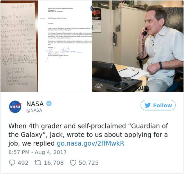 NASA Is Apparently Hiring Guardians Of The Galaxy Now (4 pics)
