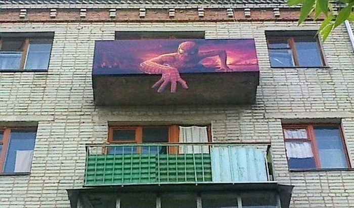 You Can See Some Strange Things On Balconies In Russia (30 pics)