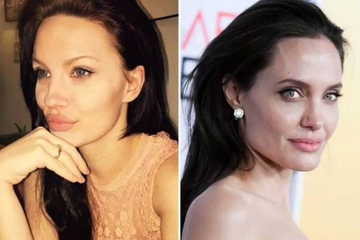 Women Who Look Way Too Much Like Famous Celebrities (9 pics)