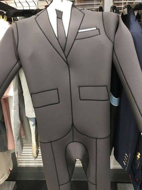 This Wetsuit Allows You To Swim In Style (5 pics)