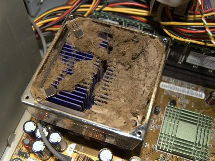 This Might Be The Dustiest Computer Ever (32 pics)