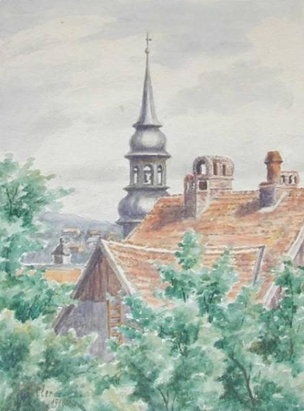 Paintings You Didn't Know Were Created By Hitler (26 pics)