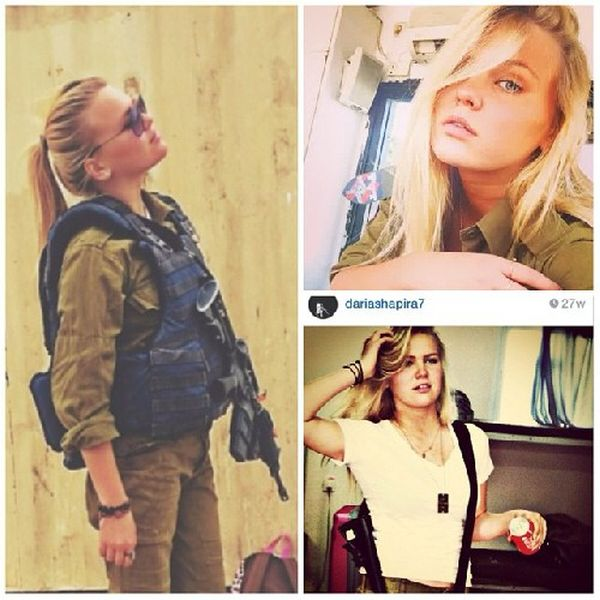 The Hot Women Of The Israeli Army (52 pics)
