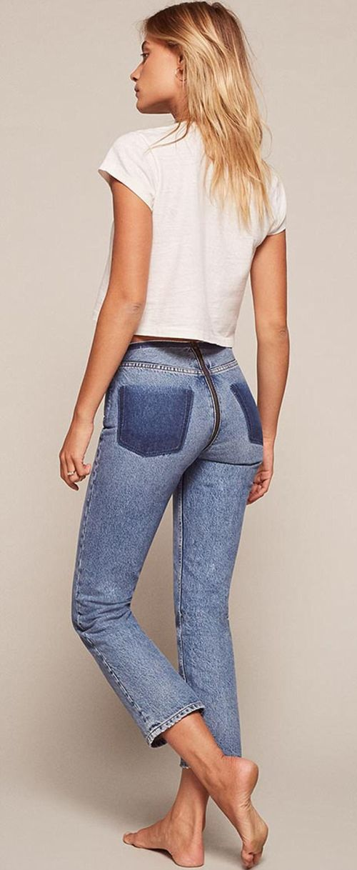 These Pants Can Literally Be Split In Two (3 pics)