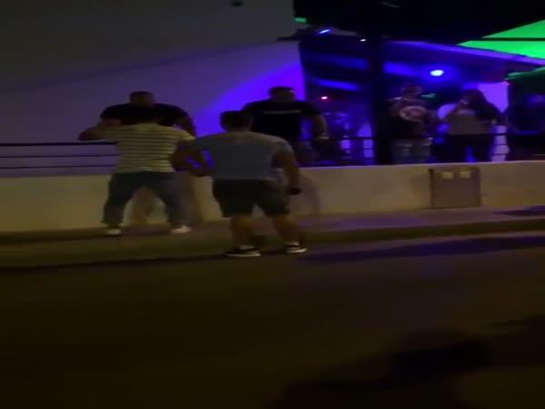 Bouncer Slaps Drunk Idiot Into Next Week