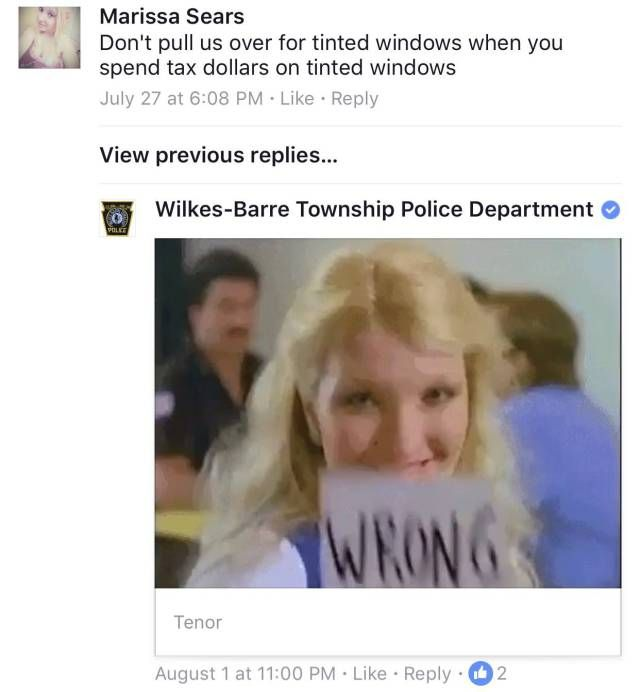 The Friendliest Facebook Police On The Internet (13 pics)