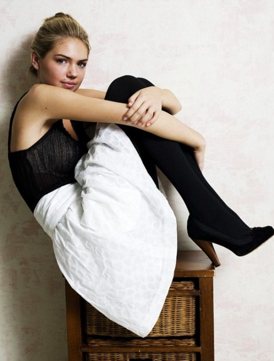 Never Before Seen Photos From Kate Upton's Early Modeling Days (19 pics)