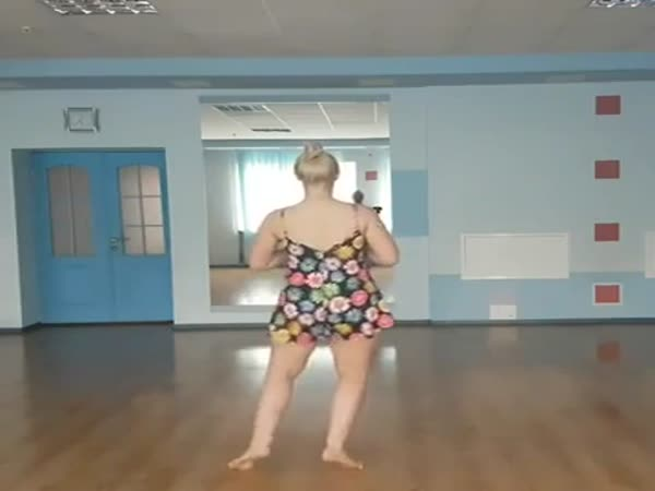 Girl Doing Seductive Dance