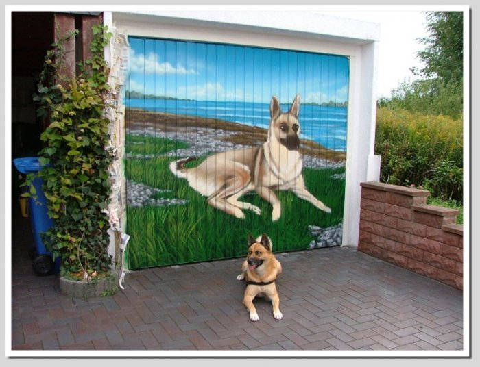 Garage Gates That Are Artistic Masterpieces (30 pics)