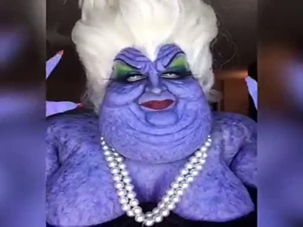 Incredible Ursula Cosplay