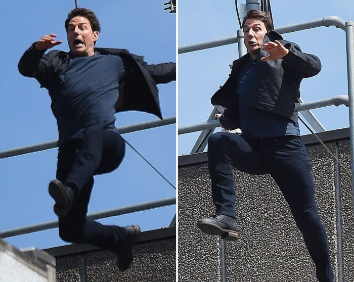 Tom Cruise Breaks Two Bones On The Set Of Mission Impossible 6 (6 pics)