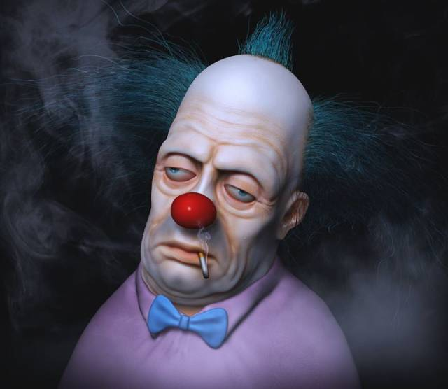 Terrifying Portraits Of Your Favorite Characters (38 pics)