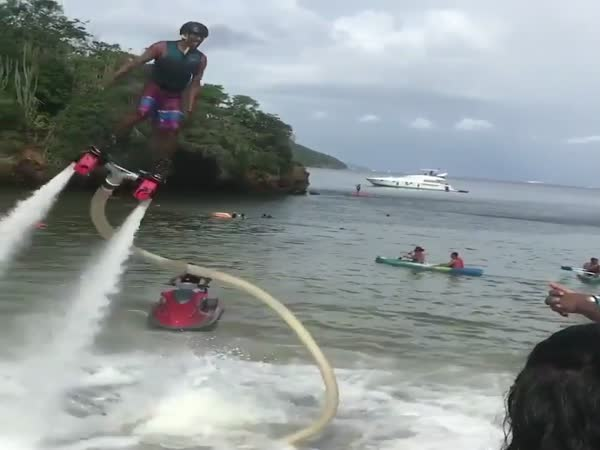Flyboard Water Jet Pack Fail