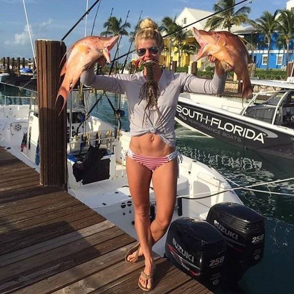Proof That Fishing Is Unbelievably Hot (36 pics)