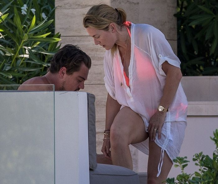 Leonardo DiCaprio And Kate Winslet Enjoy Titanic Reunion In Saint Tropez (6 pics)