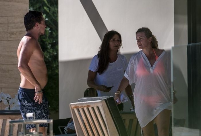Leonardo DiCaprio And Kate Winslet Enjoy Titanic Reunion In Saint Tropez (6 pics)