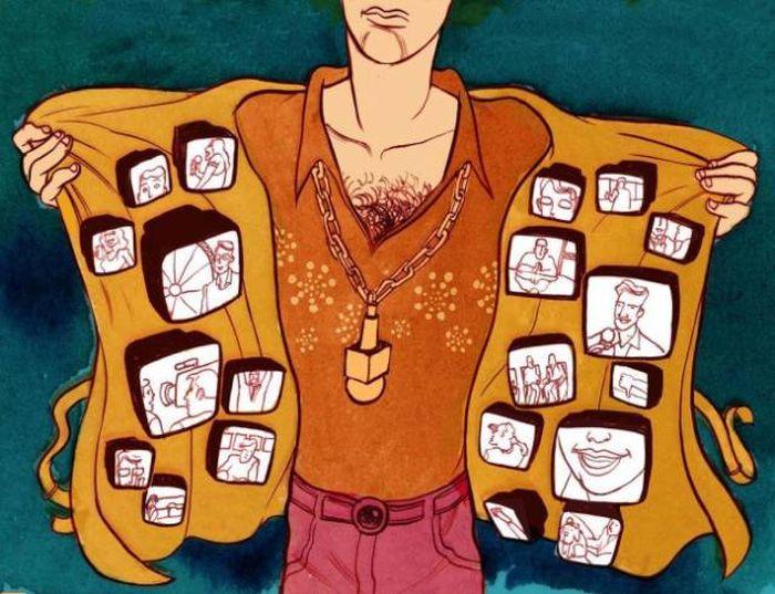 Powerful Illustrations Of Mundane Life In The 21st Century (20 pics)