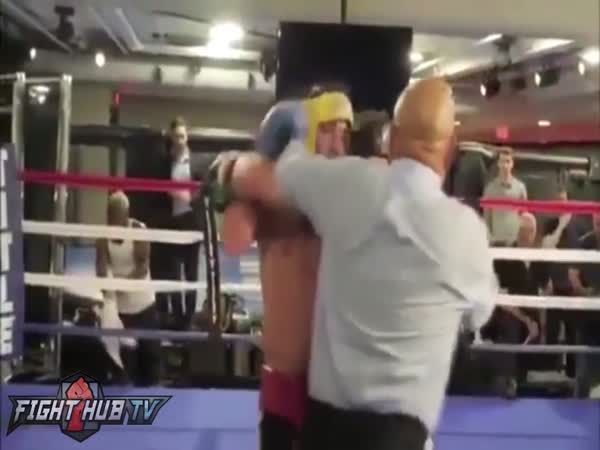 Conor McGregor vs Paulie Malignaggi