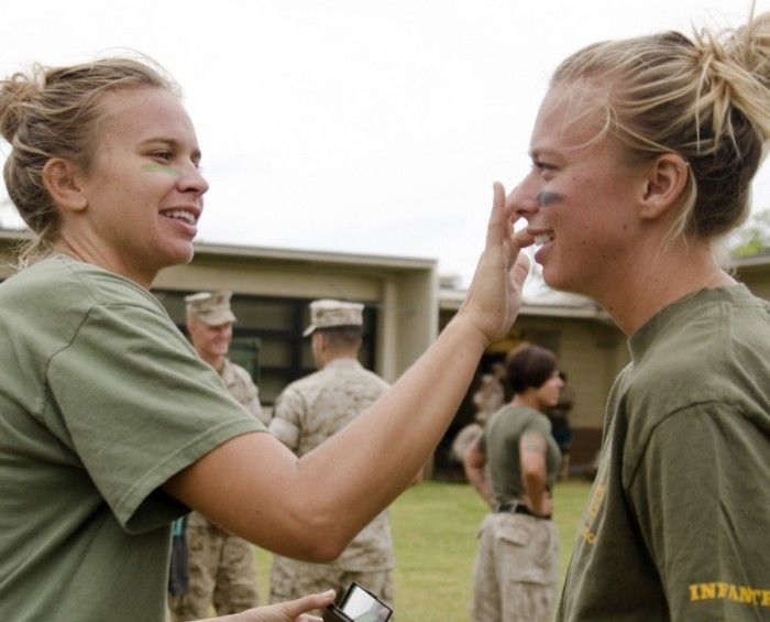 Camp pendleton wives
