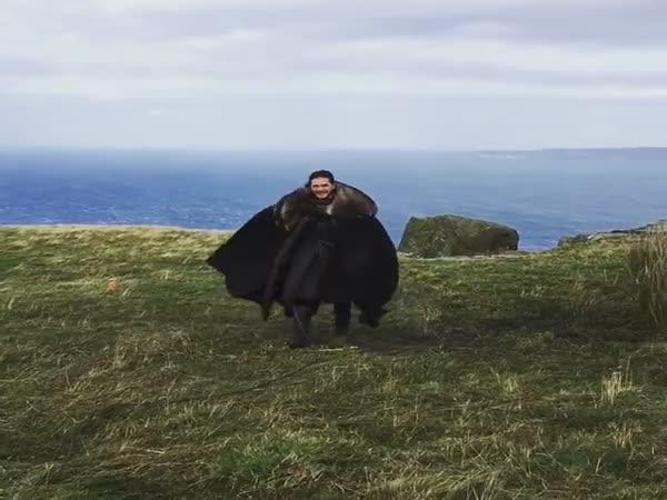 Jon Snow Thinks That He's a Dragon