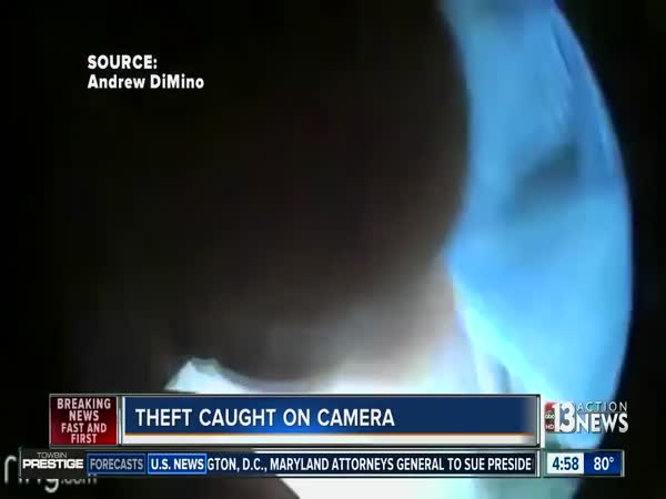 Man Watches As Thieves Steal High-Tech Video Doorbell