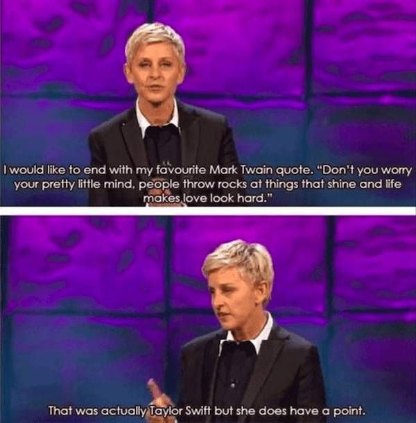 You Can't Deny That Ellen DeGeneres Speaks The Truth (28 pics)