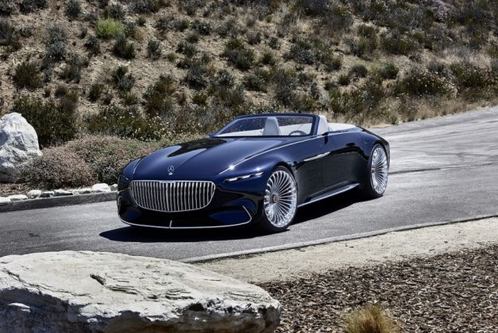The Mercedes-Maybach 6 Cabriolet Is A Dream Come True (15 pics)