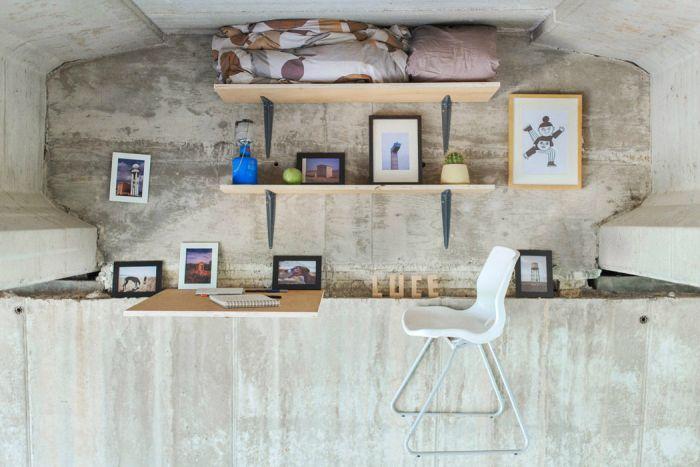 Fernando Abellanas Designs Secret Art Studio Under A Bridge In Spain (7 pics)