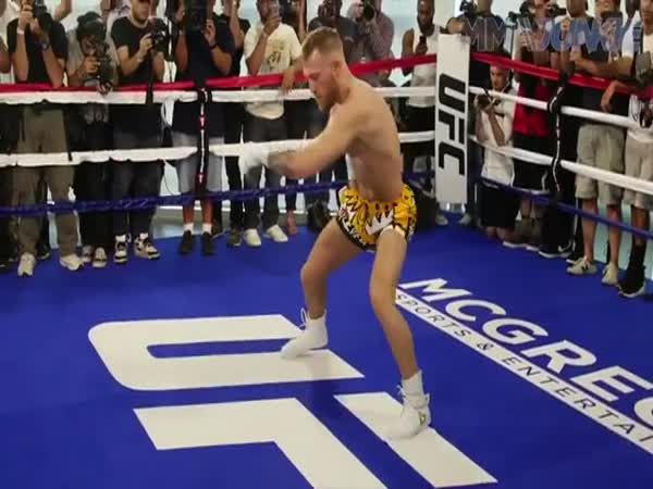 Conor McGregor Explains His Warm Up Helps Him With Hand Speed and Power