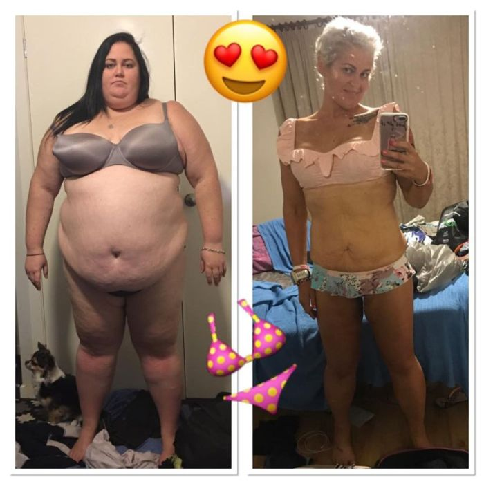 Woman Goes Through Incredible Transformation After Giving Up Fast Food (8 pics)