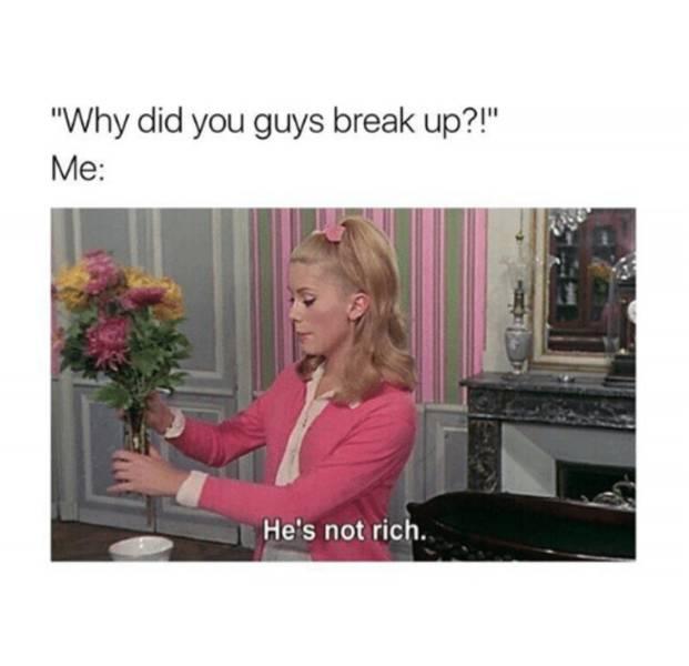 Hilarious Memes Inspired By Break Ups (35 pics)