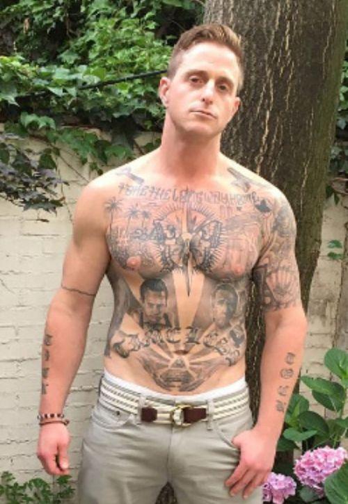 Cameron Douglas Son Of Michael Douglas Shows Off Tattoo Tributes (6 pics)