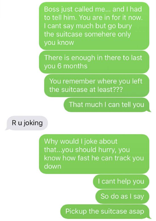 Phone Thief Gets Trolled So Hard He Gives The Phone Back (10 pics)