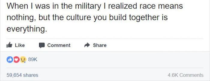 A Previously Racist Man Reveals How The Military Changed His Mind (8 pics)