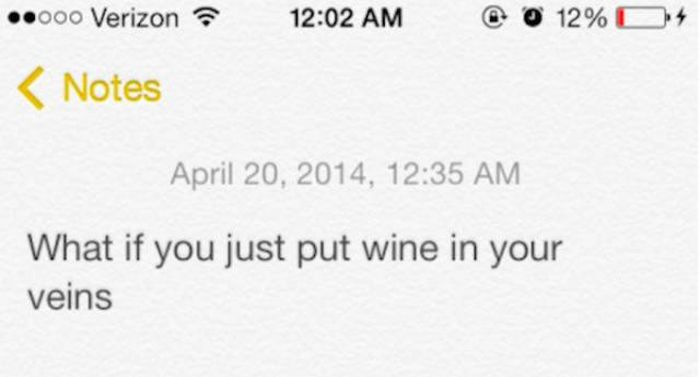 Your Drunk Self Is The Best Person To Have A Conversation With (22 pics)